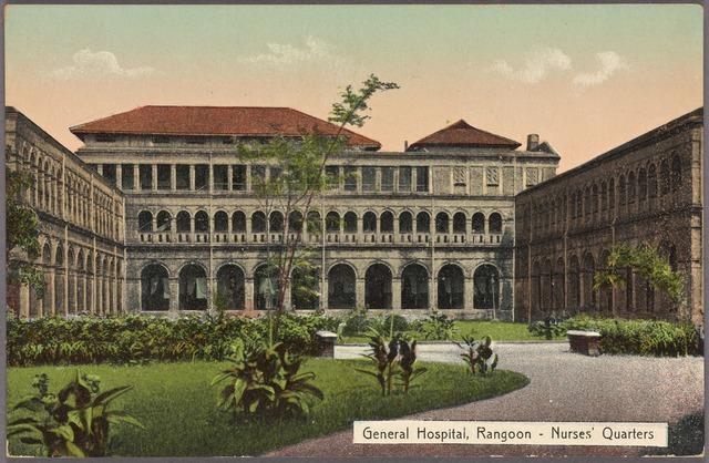 General Hospital, Rangoon--nurses' quarters.