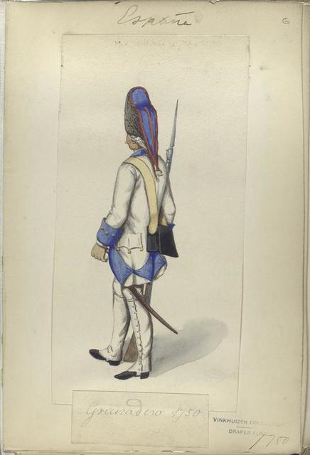 Granadero. 1750