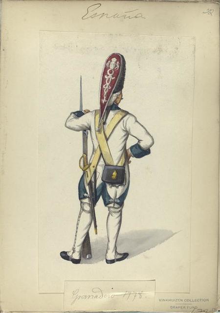 Granadero.  1778