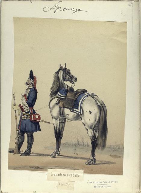Granadero a caballo (Año 1737)