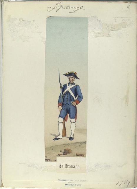 Granadero de Granada (1789).