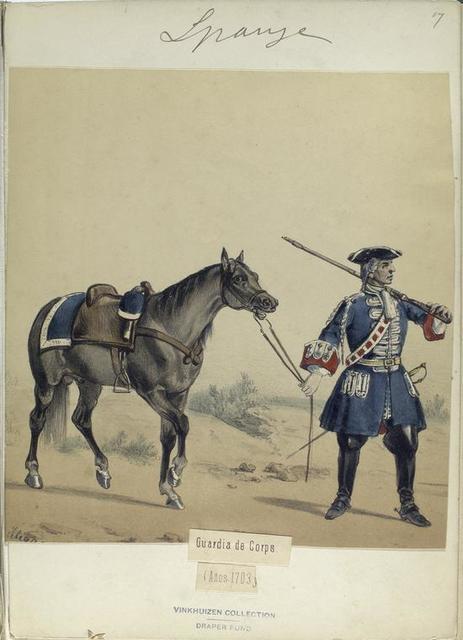 Guardia de Corps. 1703