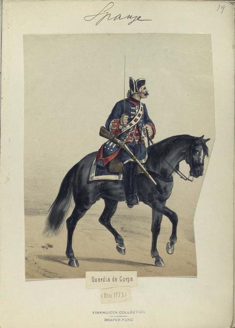 Guardia de Corps. (Año 1775)