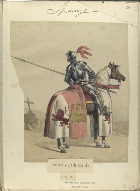 Guardia vieja de Castilla  (Año 1493).