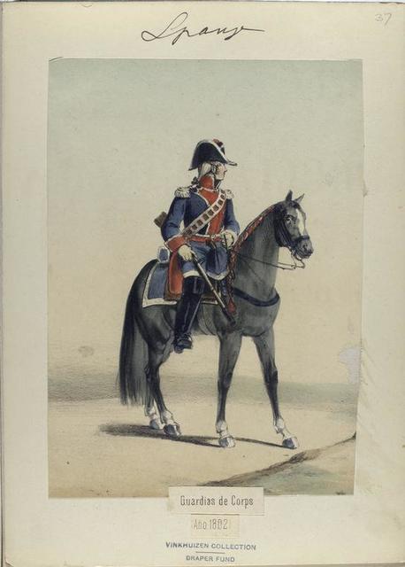 Guardias de Corps. (Año 1802).