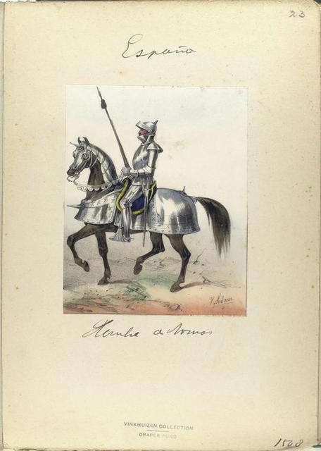 Hombre de Armas. 1508