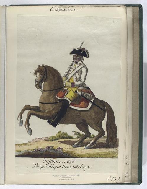 Infante, 1642. Por privilegio tiene este lugar. (1797)