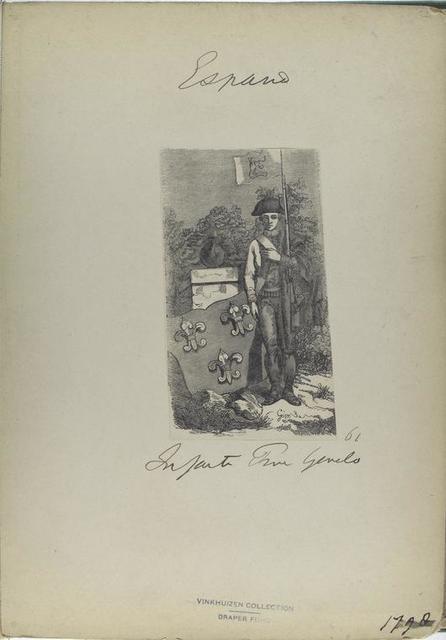 Infante Prima Gemelo [Genelo?] (61). (1798).