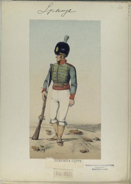 Infanteria ligera (Año 1802)