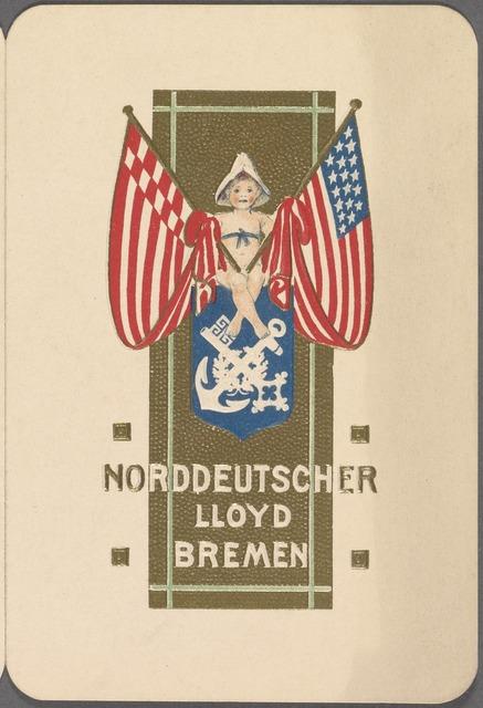 Lunch, Norddeutscher Lloyd Bremen