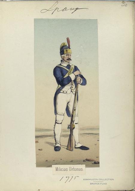 Milicias Urbanas. 1775