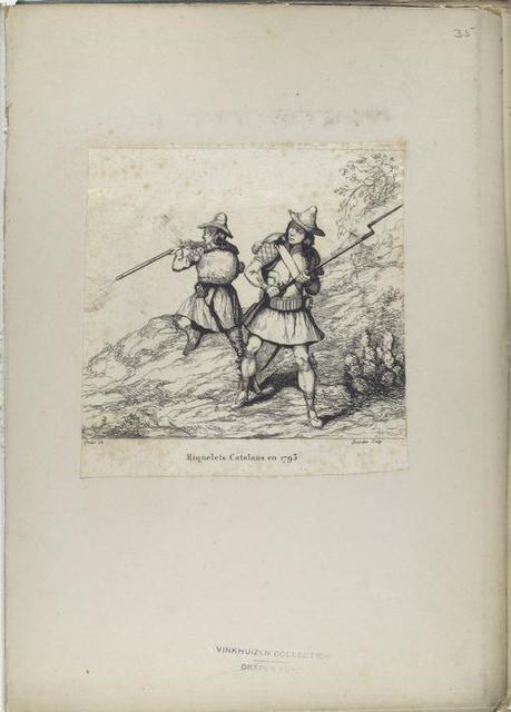 Miquelets Catalans en 1793.