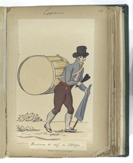 Musicien du reg-t de Catalogne (1806).