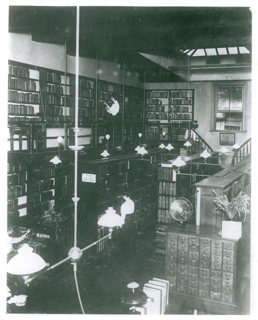 Oldest Branch in Library--Bond Street (below Astor Place, Manhattan)
