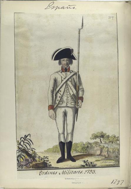 Ordenes Militares, 1793. (1797)