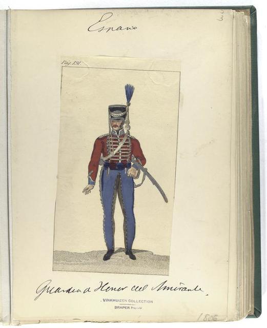 Pag. 191] Guardia de Honor del Amirante [?] (1806)