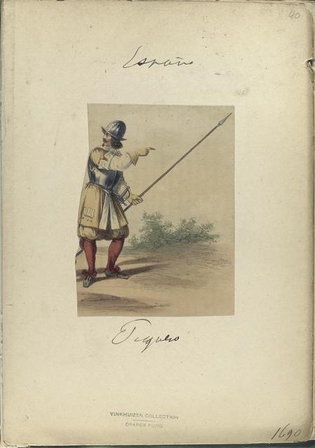 Piquero. 1690