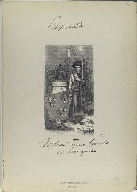 ] Primo Gemelo[Genelo?] el E... (53). (1798).