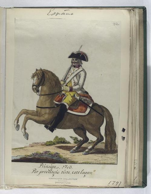 Principe, 1703. Por privilegio tiete este lugar. (1797).