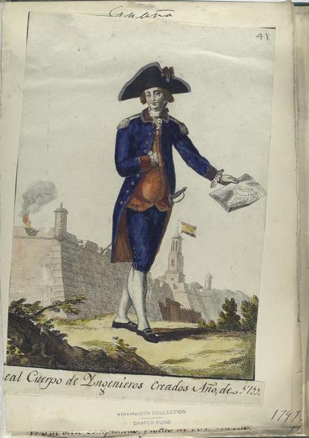 Real Cuerpo de Ingenieros. Creado Año, de 1711. (1797).
