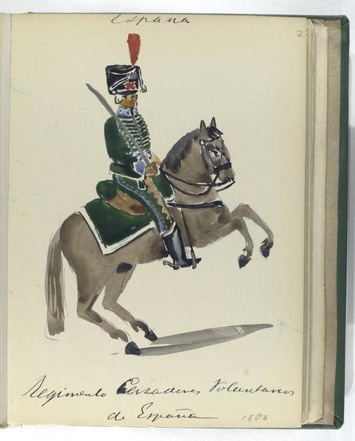 Regimento Cazadores Voluntarios de ESPAÑA (1806).