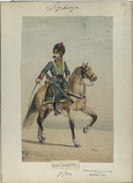 Reina (Cazadores). (1802)
