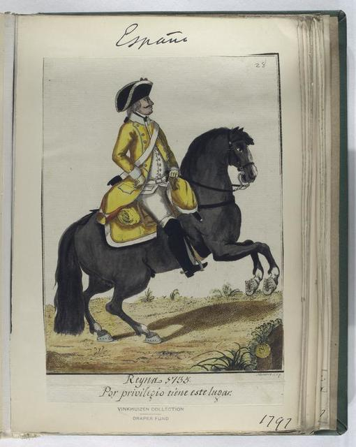 Reyna, 1735. Por privilegio tiene este lugar. (1797)