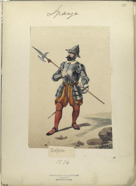 Sargento. 1534
