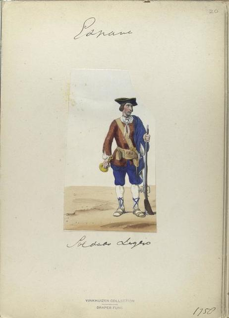 Soldado Ligero. 1750