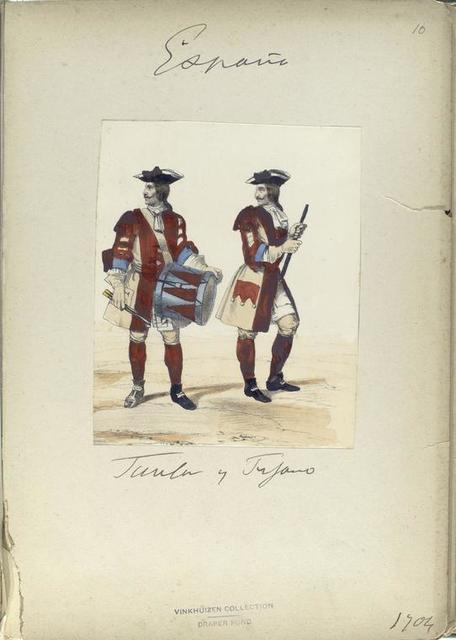 Tambor y Pifano. 1704