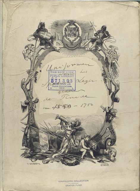 Title page Uniformen  .de Periode 1550-1750