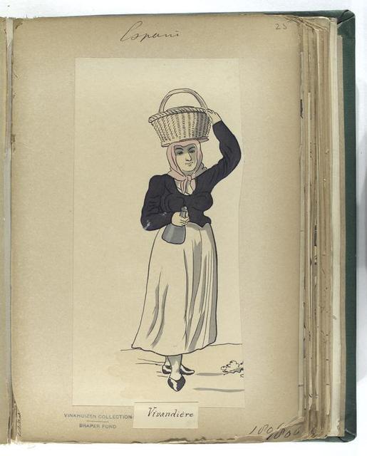 Vivandiere (1806)  - New York Public Library Public Domain Image