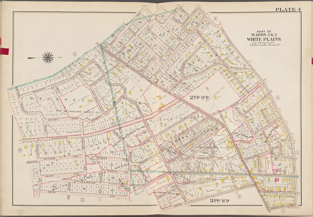 Westchester, V. 1, Double Page Plate No. 4 [Map bounded by Fisher Ave., Winchester St., Davis Ave., Smith Ave., Prescott Ave.]