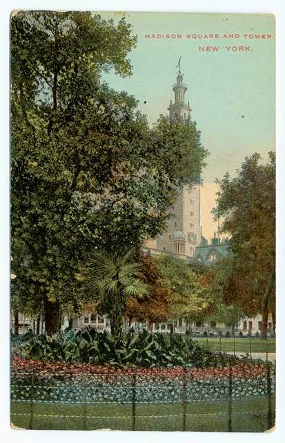 Madison Square and Tower, New York