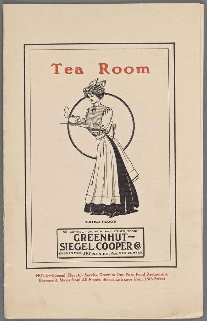 Greenhut-Siegel Cooper Co.: Tea Room
