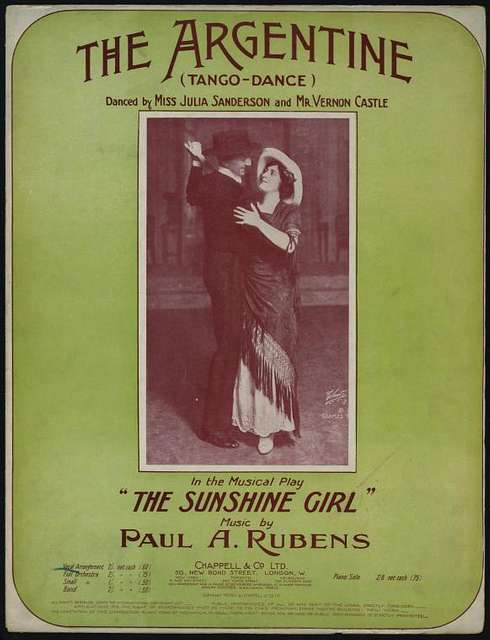 The Argentine (tango) : duet:-Delia and Lord Bicester