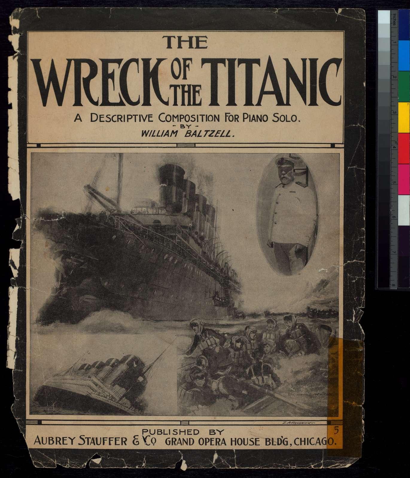 The wreck of the Titanic: piano solo