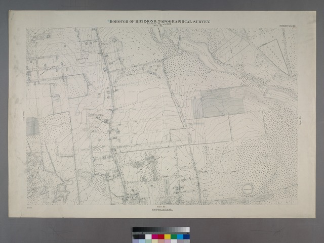 Sheet No. 23. [Includes Westerleigh Heights (Westerleigh), Richmond Lake, Clove Lake, (Castleton Corners) Dongan Avenue, Manor Road, Drake Avenue, Utter Avenue and Potter Avenue.]