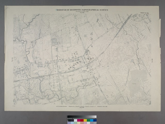 Sheet No. 90. [Includes Bayview Avenue, Amboy Road, Seguine Avenue, Fosters Road and Vernon Avenue in Prince's Bay.]