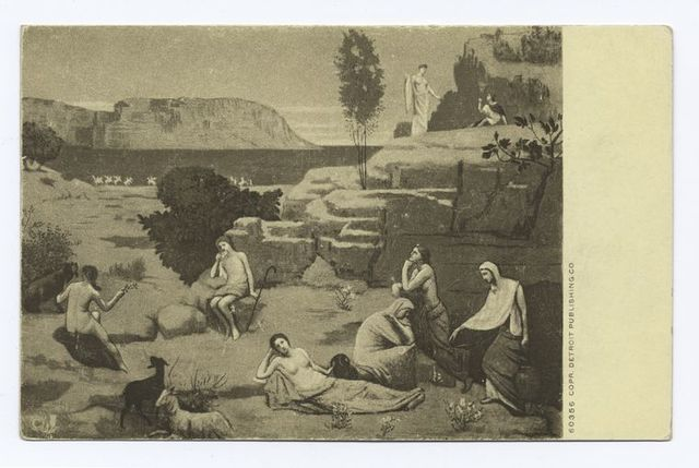 A Vision of Antiquity (or untitled), Puvis de Chavannes
