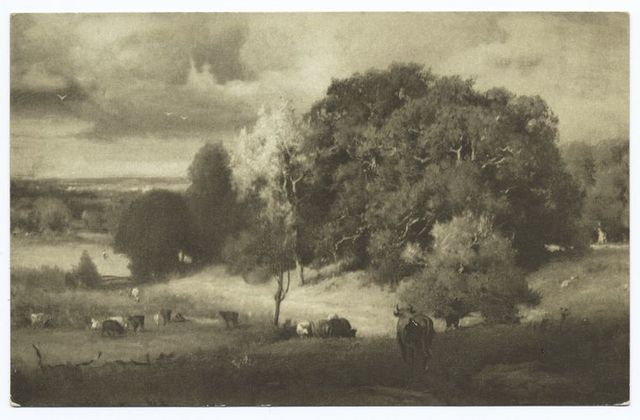 Autumn Oaks, George Innes