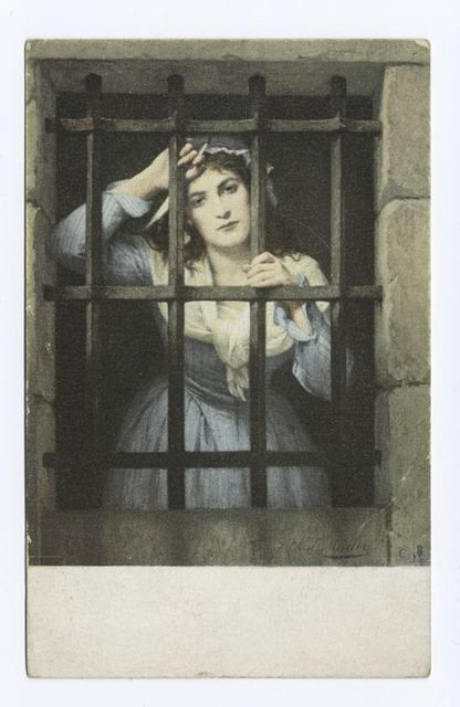 Charlotte Corday in Prison, Charles Louis Muller