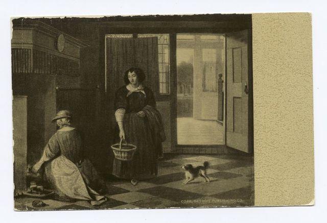Interior of a Dutch House, Pieter De Hoogh