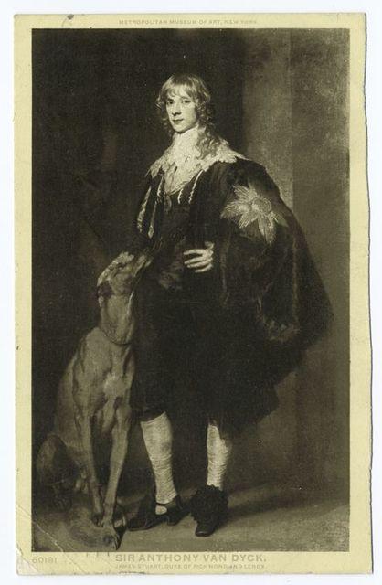 James Stuart, Sir Anthony Van Dyck