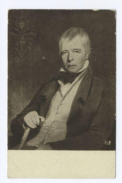 Sir Walter Scott, C.R. Leslie