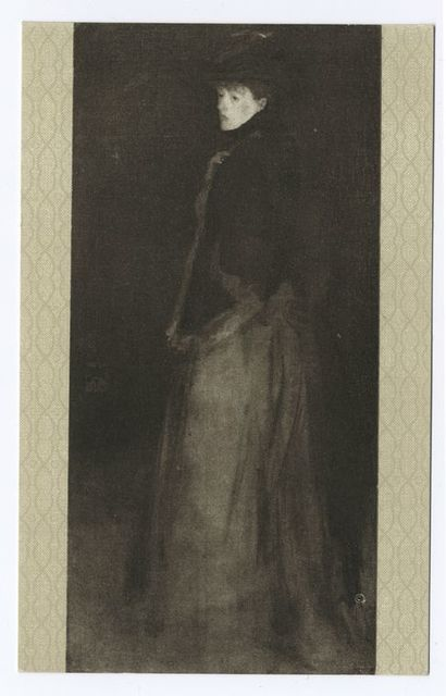 The Fur Jacket, James McNeill Whistler