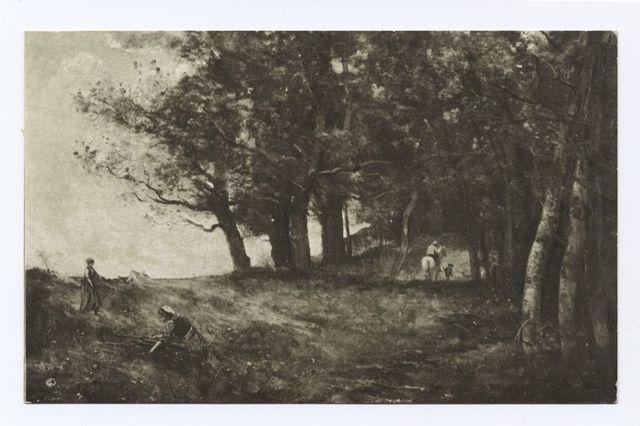 Wood Gatherers, Jean Baptiste Corot