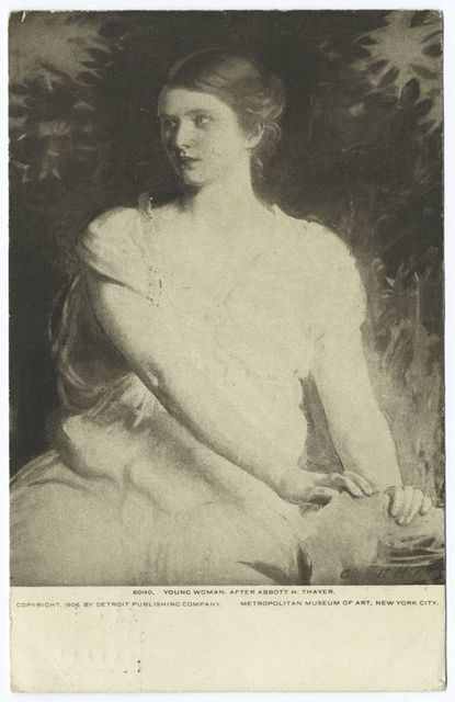 Young Woman, Abbott H. Thayer