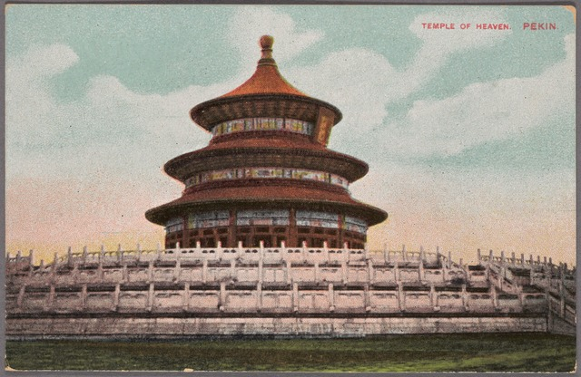 Temple of Heaven, Pekin.