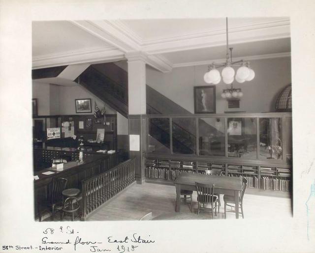 Ground Floor, East Stair [58th Street Branch]